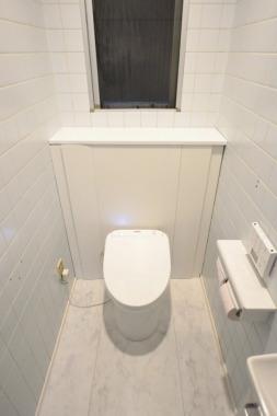 「トイレ」After