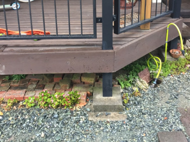 「屋外水栓」Before