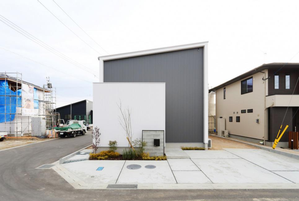 HOME LABO設計・施工のこだわりのお家!長期優良住宅の認定も取得済みです!!(外観)