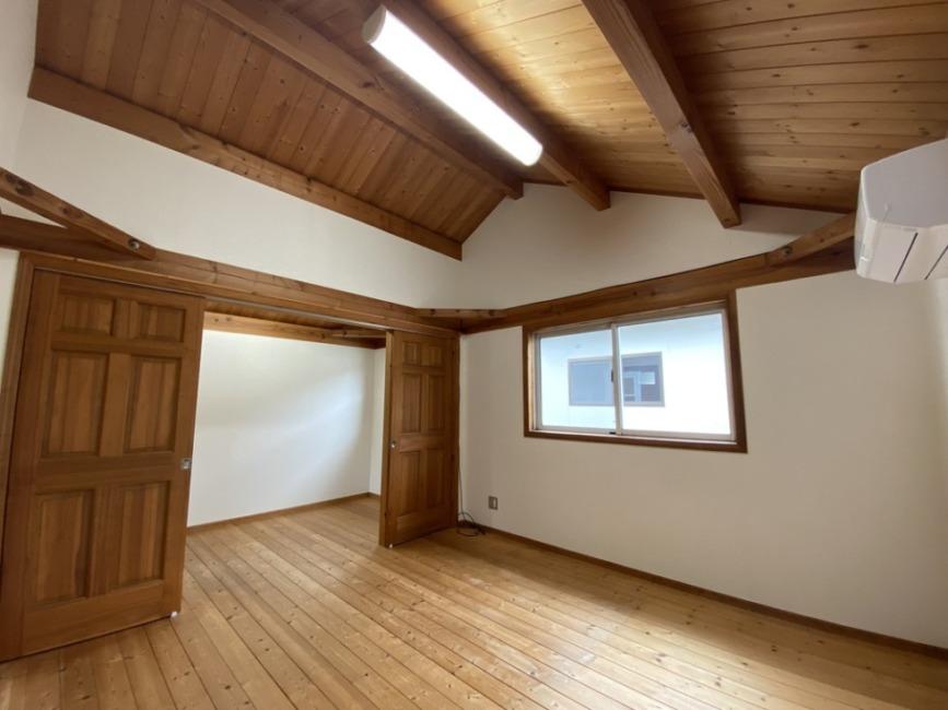 8帖の洋室。ホールとつながっています!