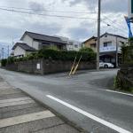 公道から私道への侵入口
