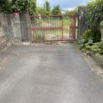 43条但し書き通路(私道)から敷地入り口を撮影