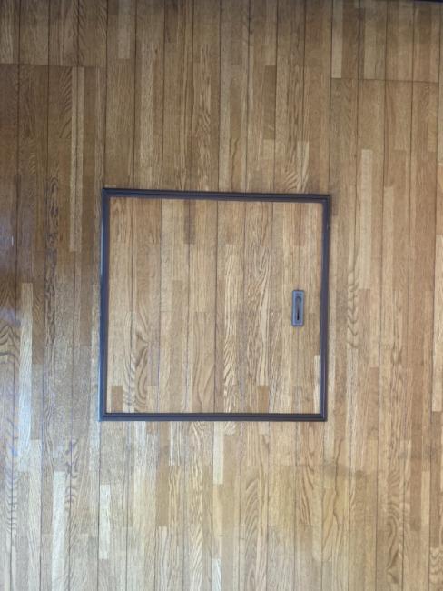 便利な床下収納があります。(キッチン)