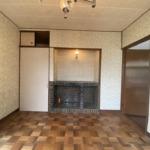 洋室4.5畳。飾り棚付きです。