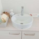 玄関のすぐ近くの手洗い器(内装)