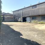 東側敷地・北から撮影